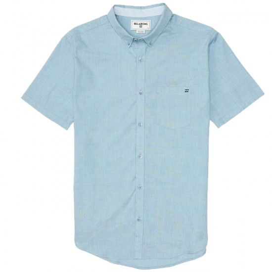 Billabong All Day Acid Wash Shirt - Haze