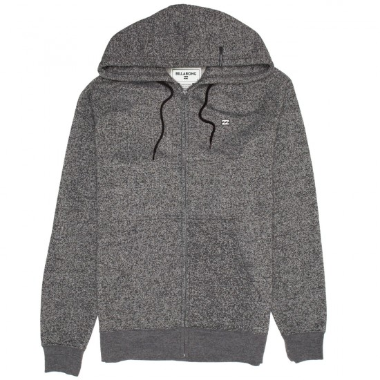 Billabong Balance Zip Up Hoodie - Black