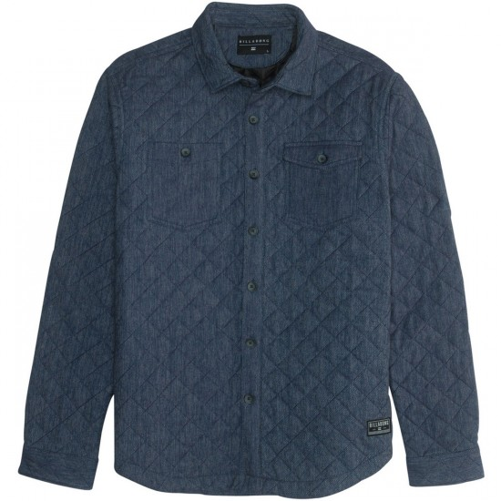 Billabong Bonanza Long Sleeve Shirt - Navy