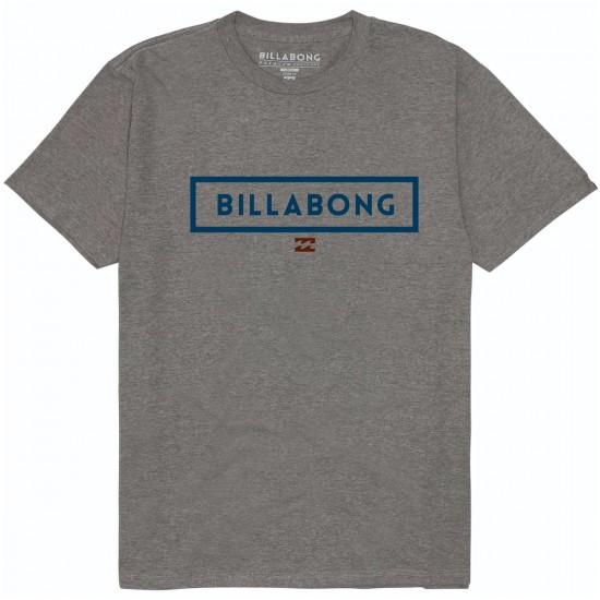 Billabong Boxed T-Shirt - Dark Grey Heather