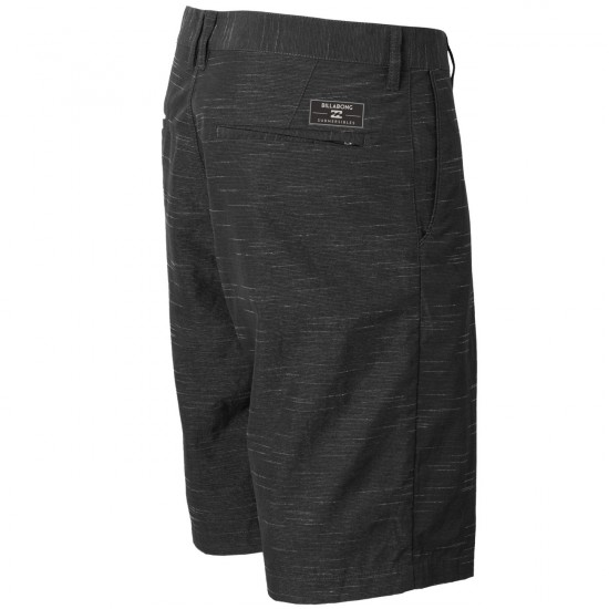 Billabong Crossfire X Slub Submersible Boardshorts - Black