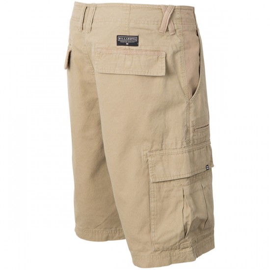 Billabong Scheme Shorts - Dark Khaki