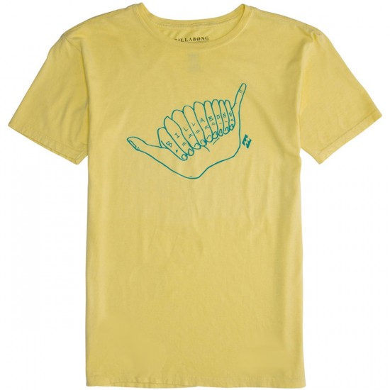 Billabong Shaaka T-Shirt - Light Lime