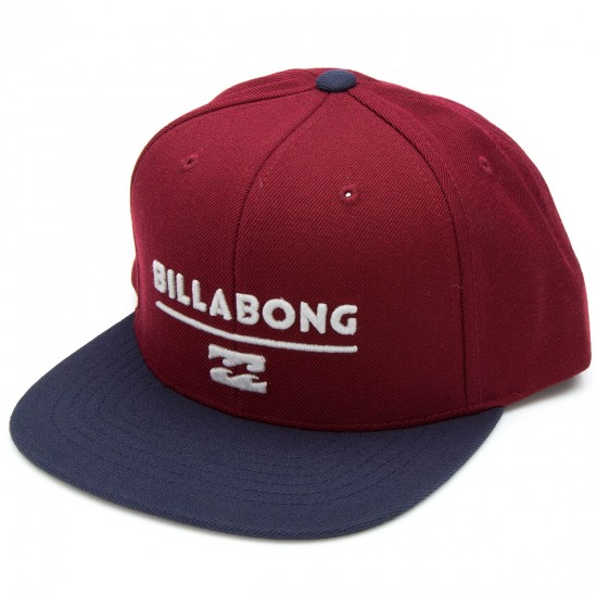Billabong System Snapback Hat - Wine