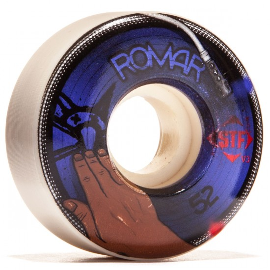 Bones STF Romar Scratch V3 Skateboard Wheels