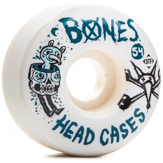 Bones STF Sieben Head Cases V1 Skateboard Wheels - 52mm