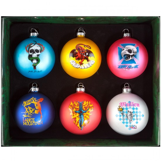 Bones Brigade Ornament Set