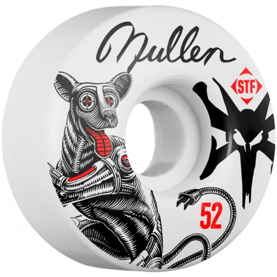 Bones STF Mullen Mutt V1 Skateboard Wheels - 52mm