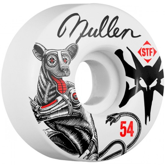 Bones STF Mullen Mutt V1 Skateboard Wheels - 54mm