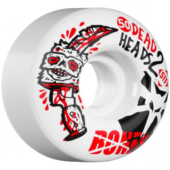 Bones STF Sieben Dead Heads 2 V1 Skateboard Wheels - 50mm