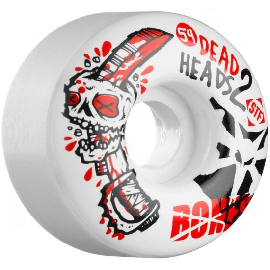 Bones STF Sieben Dead Heads 2 V1 Skateboard Wheels - 54mm