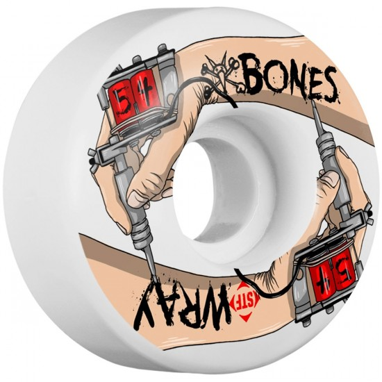 Bones Wray For Life V3 Skateboard Wheels - 54mm