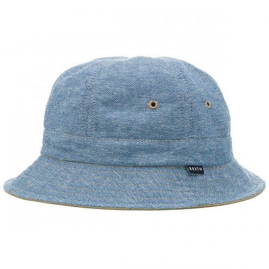 Brixton Banks Bucket Hat - Light Blue f3f7349c7a1