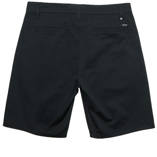 Brixton Carter Shorts - Black