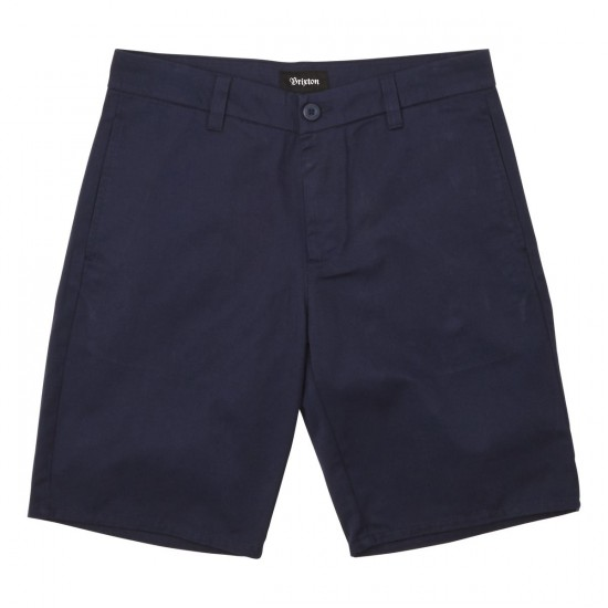 Brixton Carter Shorts - Washed Navy
