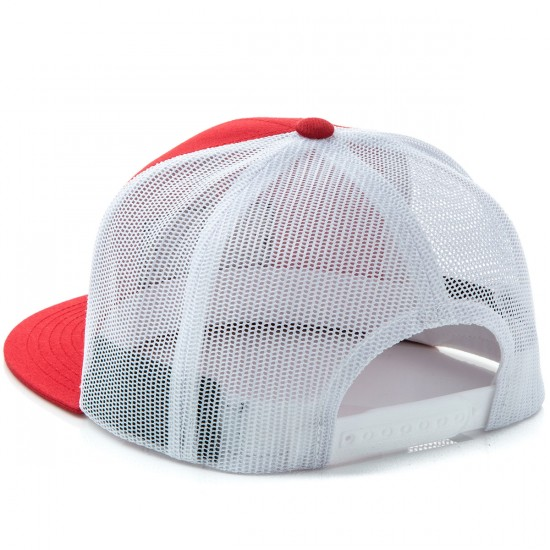 Brixton Fuel Mesh Hat - Red/White