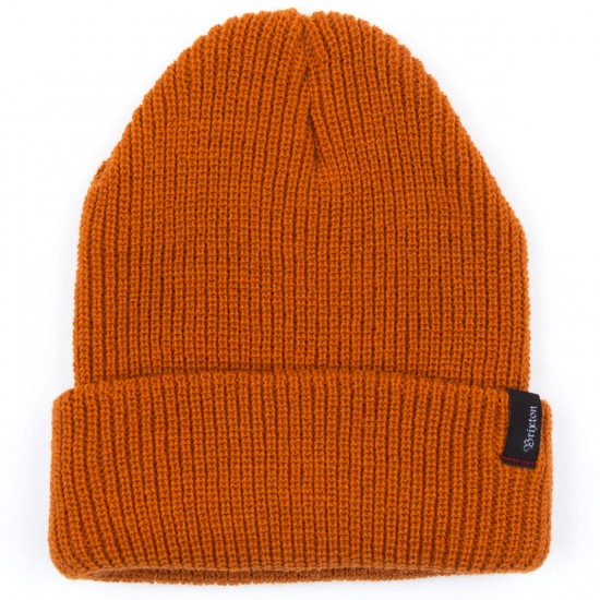 Brixton Heist Beanie - Orange