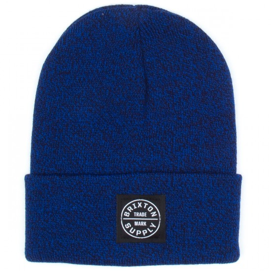 Brixton Oath Watch Beanie - Royal/Navy