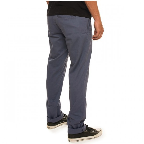 Brixton Reserve Chino Pants - Blue - 36 - 32