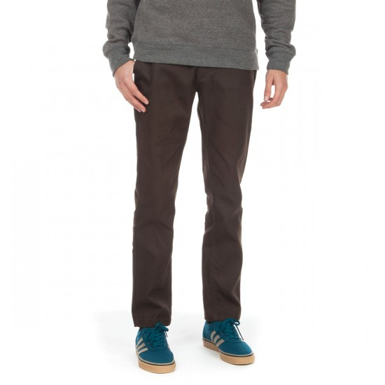 Brixton Reserve Rigid Standard Fit Chino Pants - Brown - 28 - 32