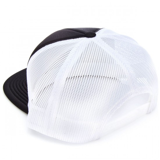 Brixton Rift Mesh Snap Back    Hat - Black