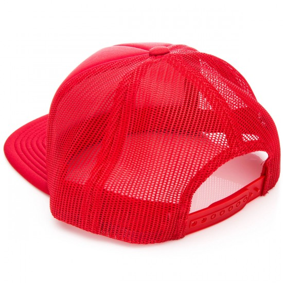 Brixton Rift Mesh Snap Back    Hat - Red