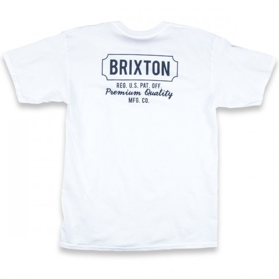 Brixton Russell T-Shirt - White