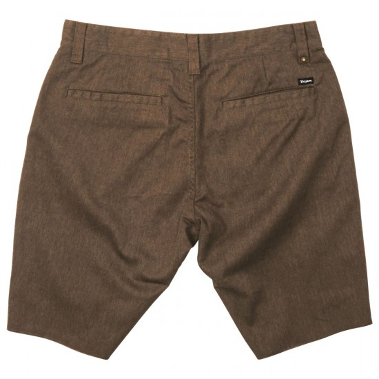 Brixton Toil II Shorts - Heather Brown