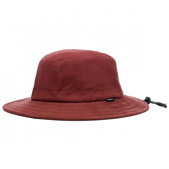 Brixton Tracker Bucket Hat - Burgundy