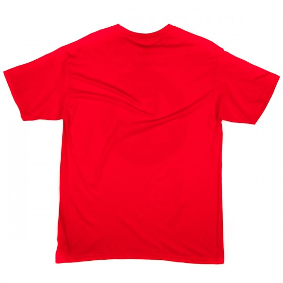Bro Style Friends Club T-Shirt - Red