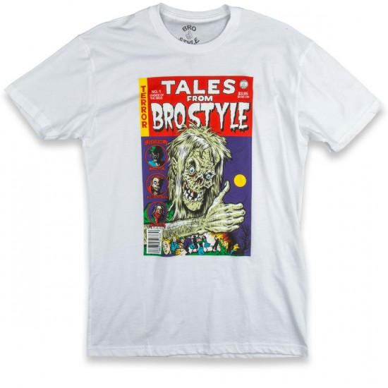 Bro Style Tales From The Crypt T-Shirt - White