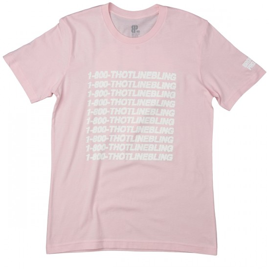 Brooklyn Projects Thotline Bling T-Shirt - Pink