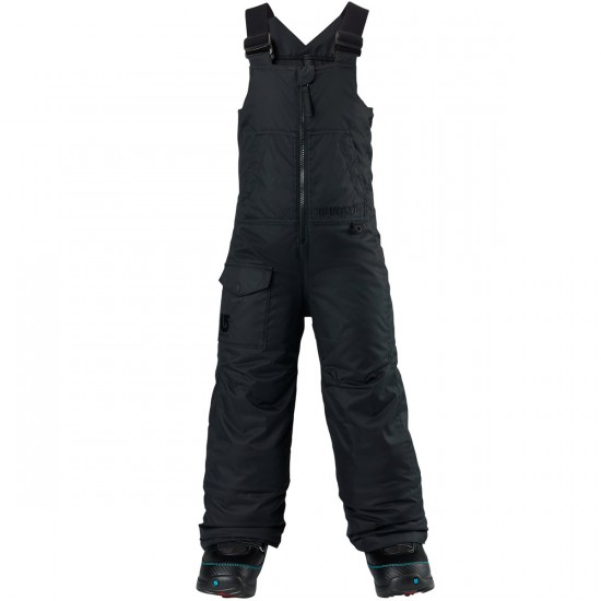 Burton Boy's Minishred Maven Bib Pants 2015 - True Black