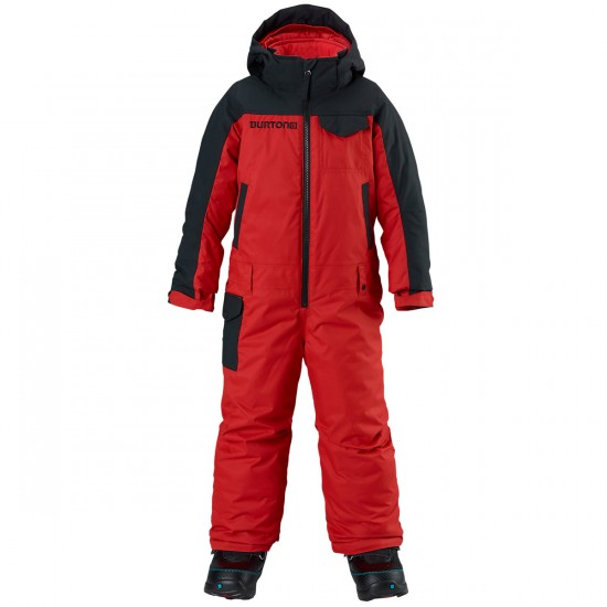 Burton Boy's Minishred Striker One Piece 2015 - Fang/True Black