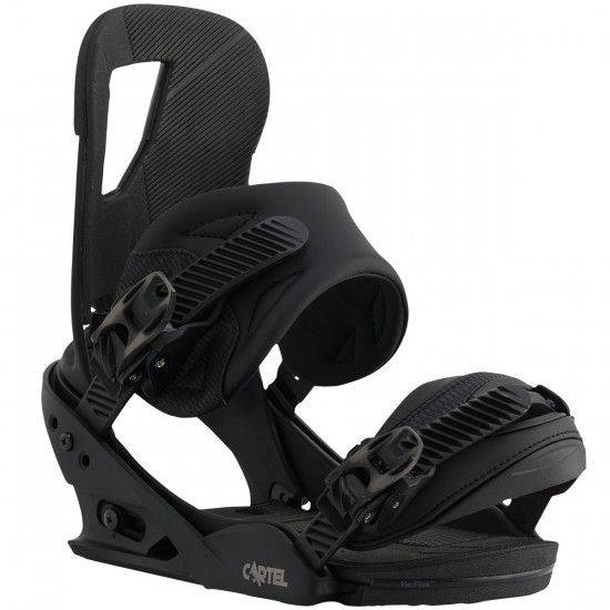 Burton Cartel EST Snowboard Bindings 2016 - Black