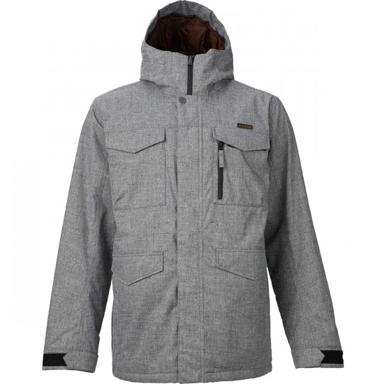 Burton Covert Snowboard Jacket - Bog Heather