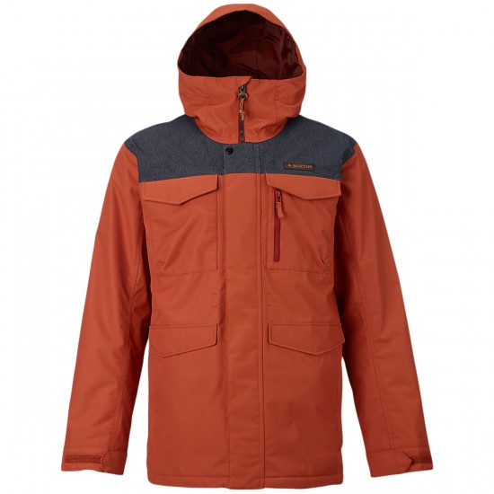 Burton Covert Snowboard Jacket - Picante/Denim