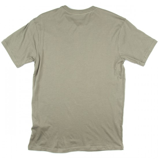 Burton Danhole Short Sleeve Pocket T-Shirt - Light Olive