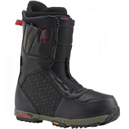 Burton Imperial Snowboard Boots 2016 - Black/Green/Red