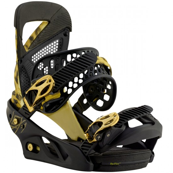 Burton Lexa Womens Snowboard Bindings 2016 - Queen Lacheetah