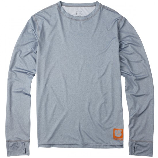 Burton Lightweight Crew Base Layer 2015 - Heather Grey