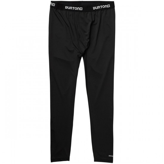 Burton Lightweight Pant Snowboard Base Layer - True Black