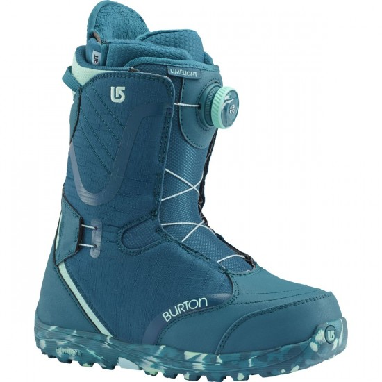 Burton Limelight Boa Womens Snowboard Boots - The Teal Deal - 2017