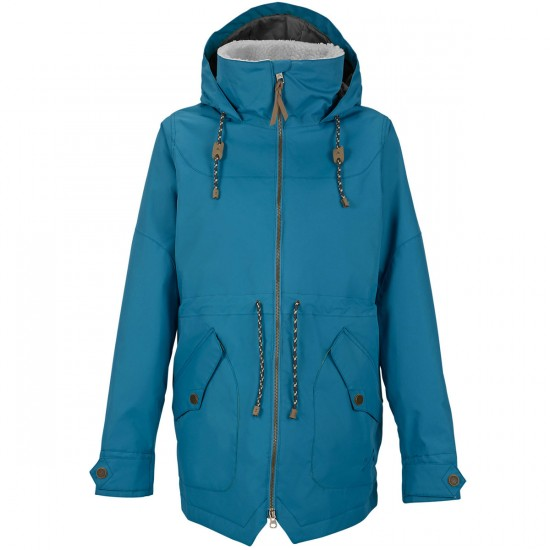 Burton Prowess Womens Snowboard Jacket - Pacific