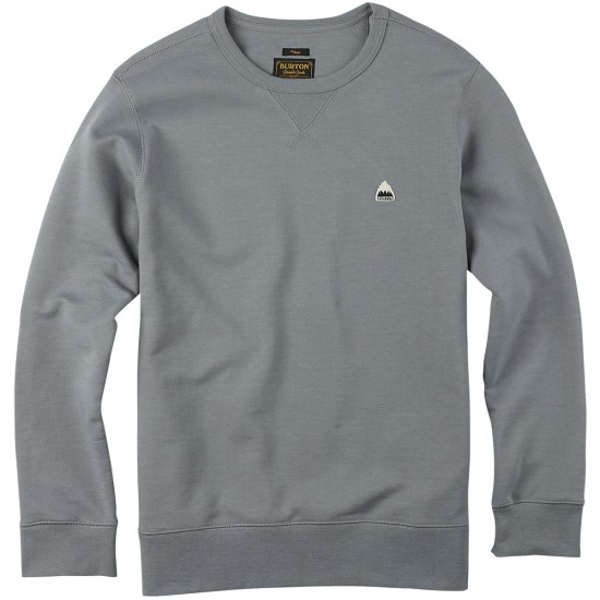 Burton Roe Crew Fleece - Monument Heather