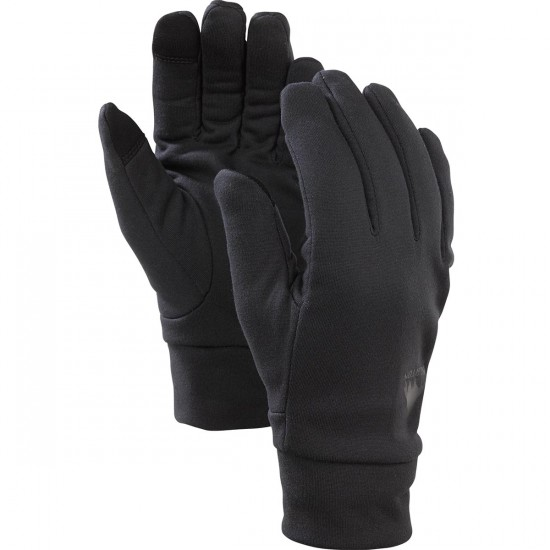 Burton Screengrab Liner Snowboard Gloves - True Black