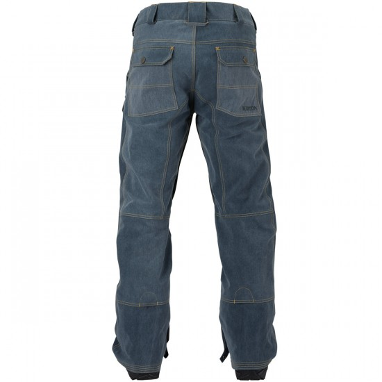 Burton Tidal Snowboard Pants - Denim Wash