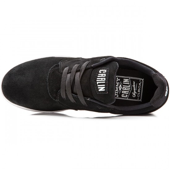 C1rca JC01 Shoes - Black/Black/White - 8.0