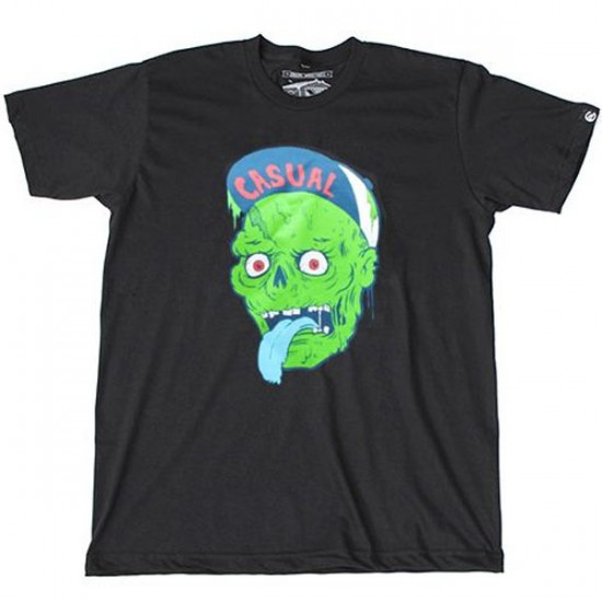 Casual Industrees Zombie T-Shirt - Black