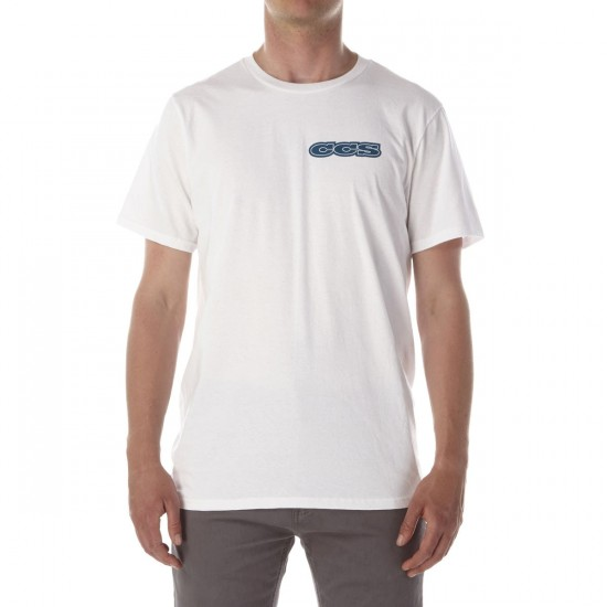 CCS 96 Logo T-Shirt - White/Navy